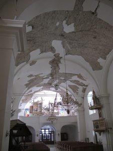 Interno Cattedrale della Sacra Croce, Sisak – Croazia