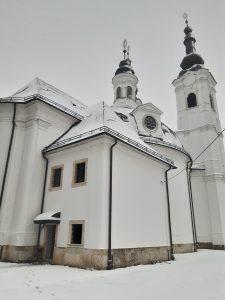 Laterale Cattedrale della Sacra Croce, Sisak – Croazia