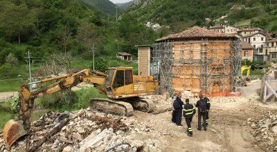 Intervento di restauro e miglioramento sismico dell'Oratorio della Madonna del Sole di Capodacqua